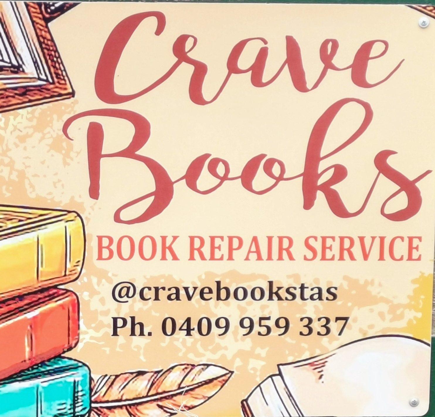 Crave Books Tasmania